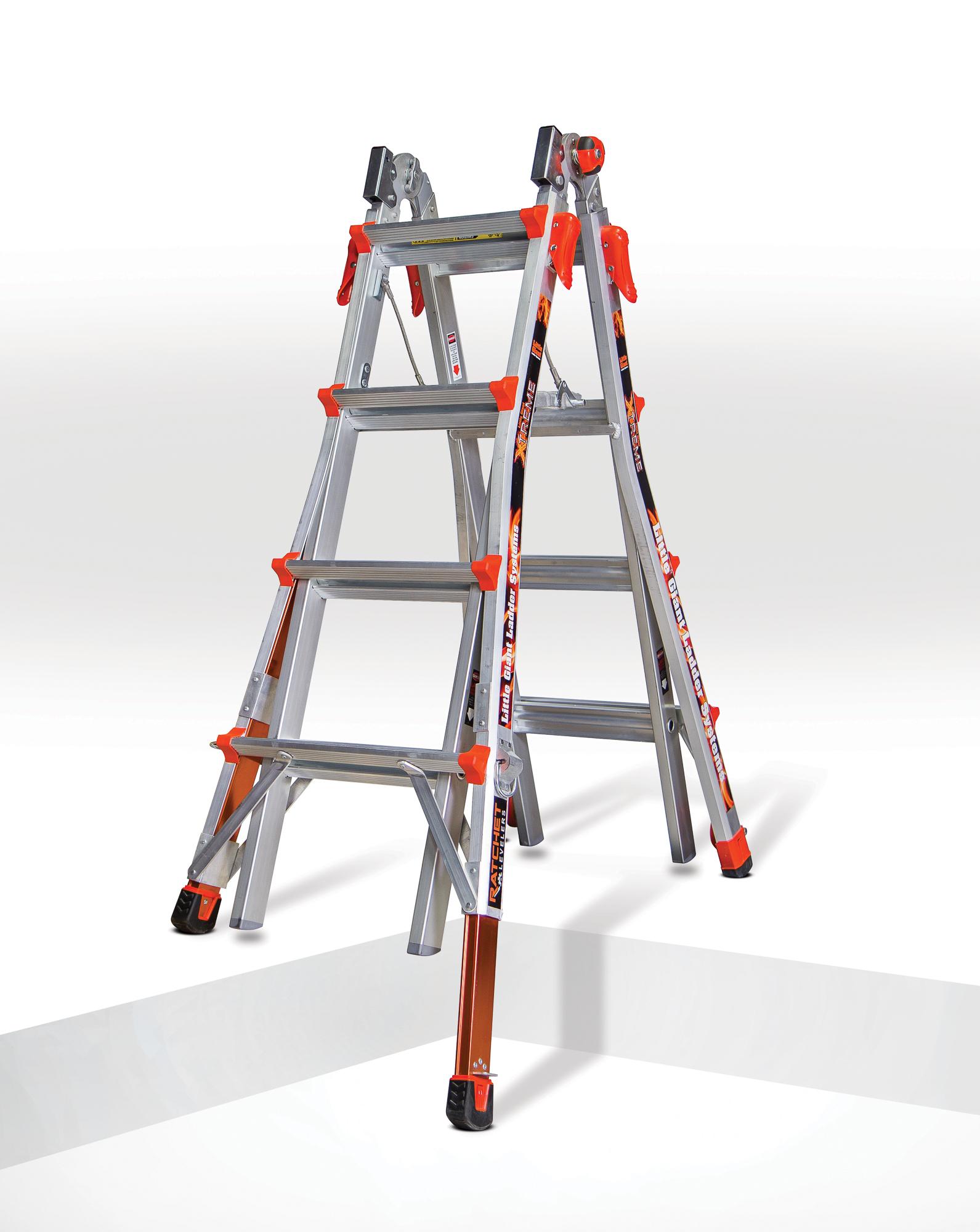 Little Giant Xtreme Ladder Built In Work Platform