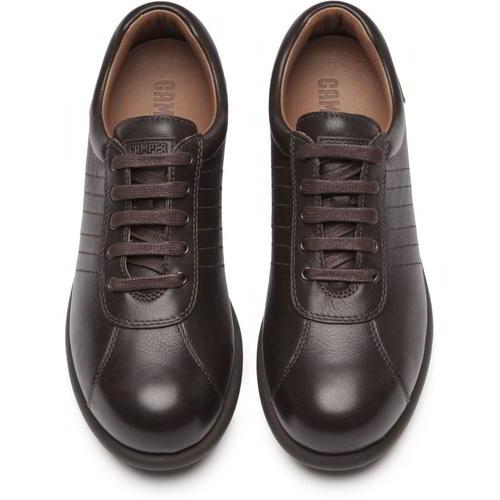 Camper Pelotas Ariel 27205 Womens Ladies Brown Trainers Shoes Size 4-8