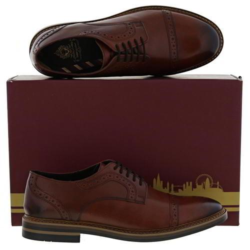 Mens Base London Lace Up Shoes Butler