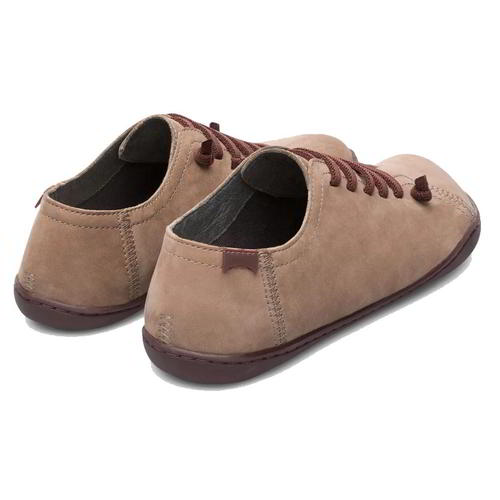 Camper Peu Cami 20848 Womens Ladies Brown Soft Leather Shoes Trainers Size 4-8