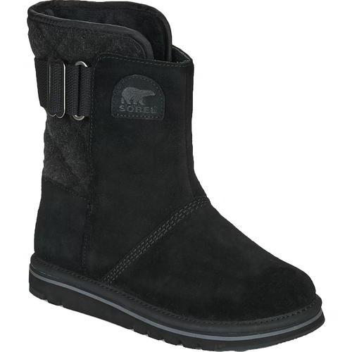 Sorel Newbie Womens Ladies Black Water Resistant Mid Calf Snow Winter Boots