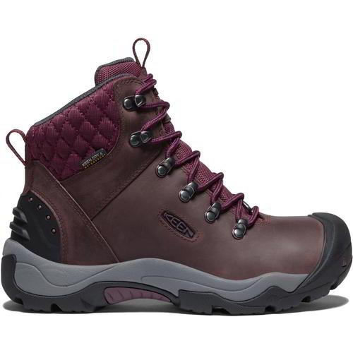 Keen Revel III Womens Ladies Purple Waterproof Walking Hiking Boots Size 5-8