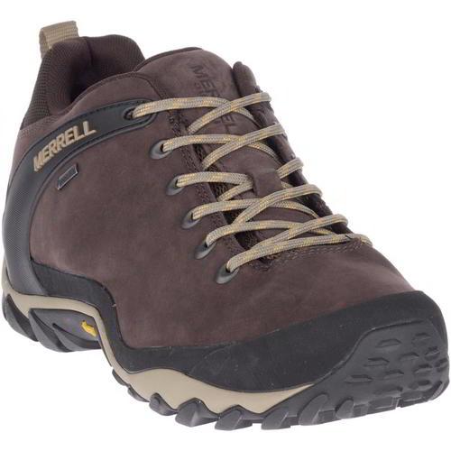 Merrell Cham 8 GTX Marron Foncé Imperméable Chaussures De Marche Baskets Homme Taille 7-13