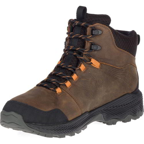 Merrell Forestbound Mid GTX Mens Brown Waterproof Walking Hiking Boots Size 7-14