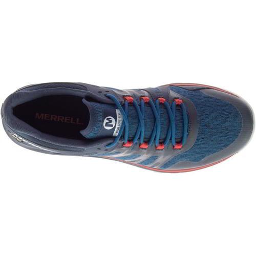 Merrell Nova GTX Mens Blue Vegan Waterproof Walking Trainers Shoes Size 7-14