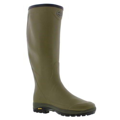 Le Chameau Country Vibram Mens Wellies Wellington Boots Size 6.5-11