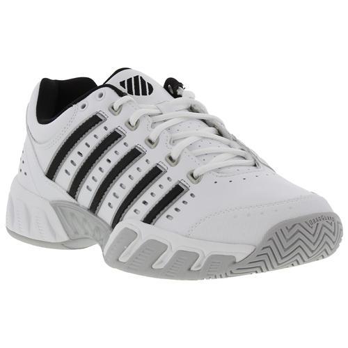 K Swiss Bigshot Light Ltr Homme Large Coupe Chaussures De Tennis Baskets Blanc Taille 7-14