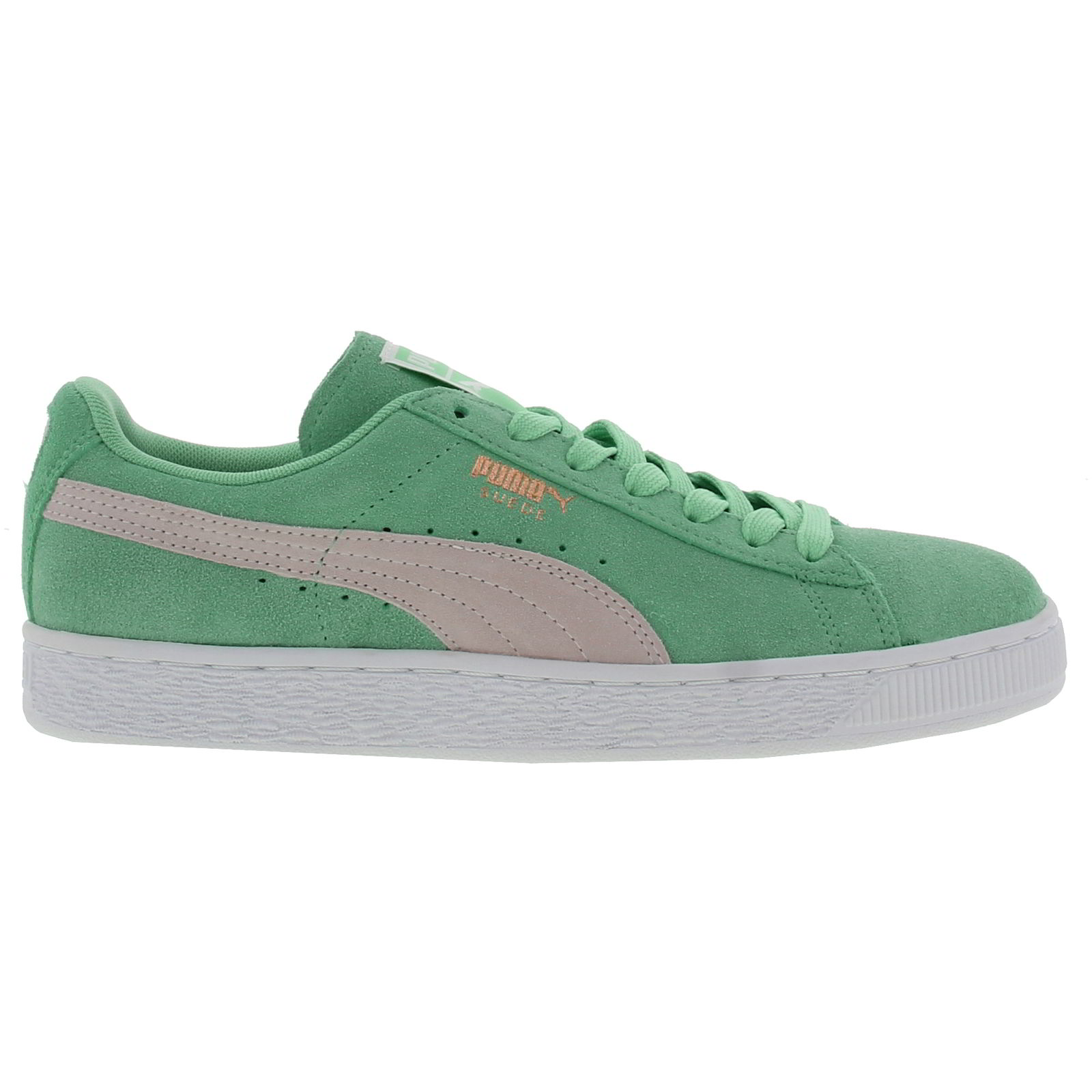 puma suede classic womens blue green suede trainers shoes. Black Bedroom Furniture Sets. Home Design Ideas