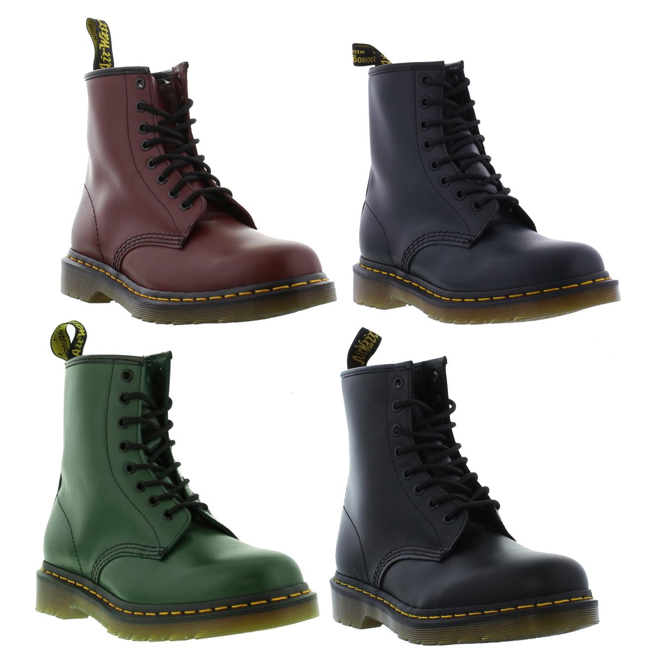 dr martens 1460 z mens womens leather ankle boots size 3. Black Bedroom Furniture Sets. Home Design Ideas