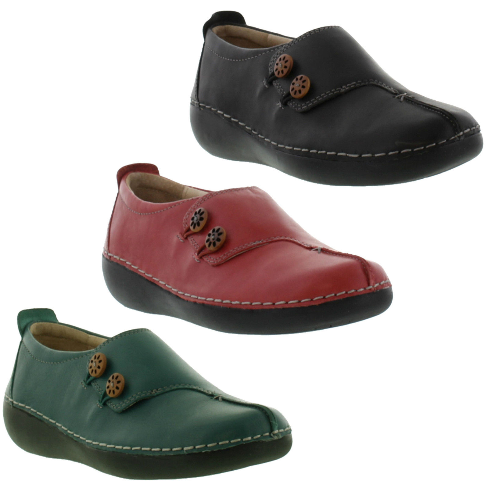 place footwear stella womens orthotic leather shoes