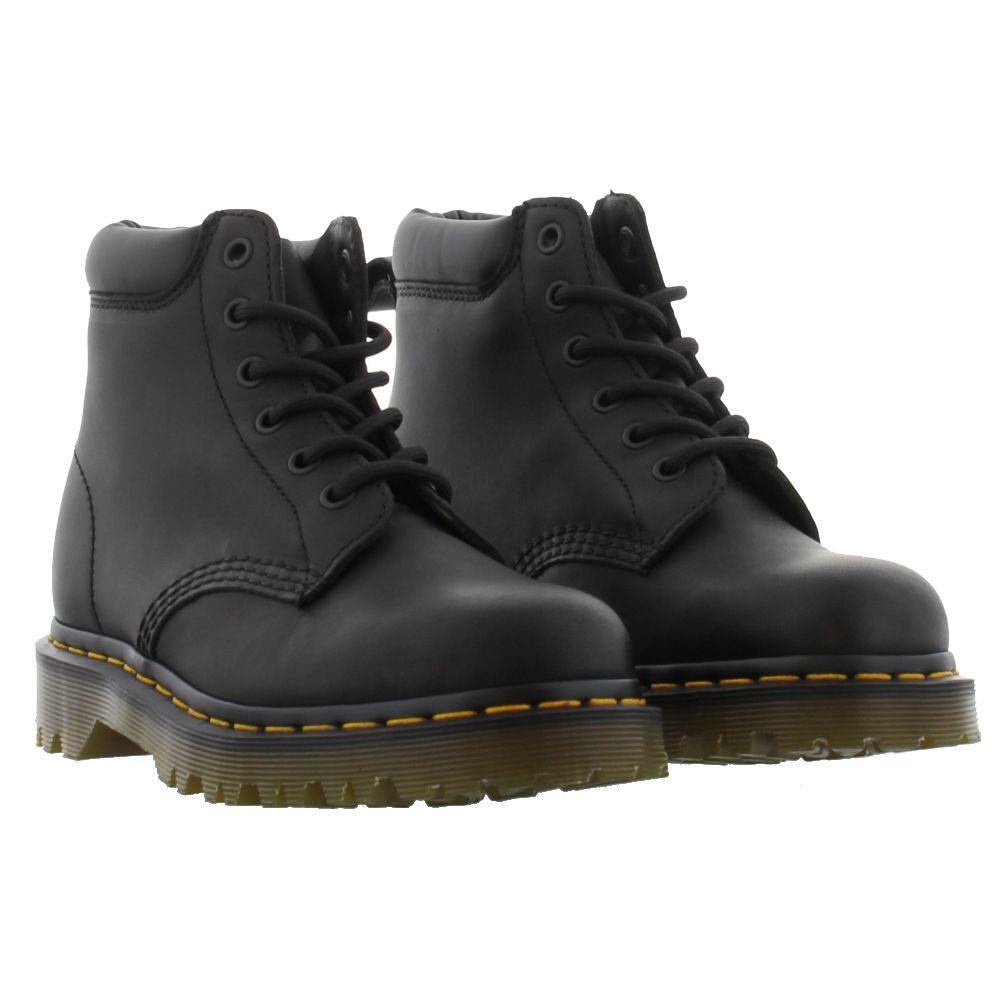 dr martens 939 ben mens black brown leather ankle boots. Black Bedroom Furniture Sets. Home Design Ideas