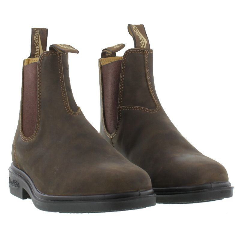 Blundstone 1306 Mens Brown Leather Chelsea Ankle Boots