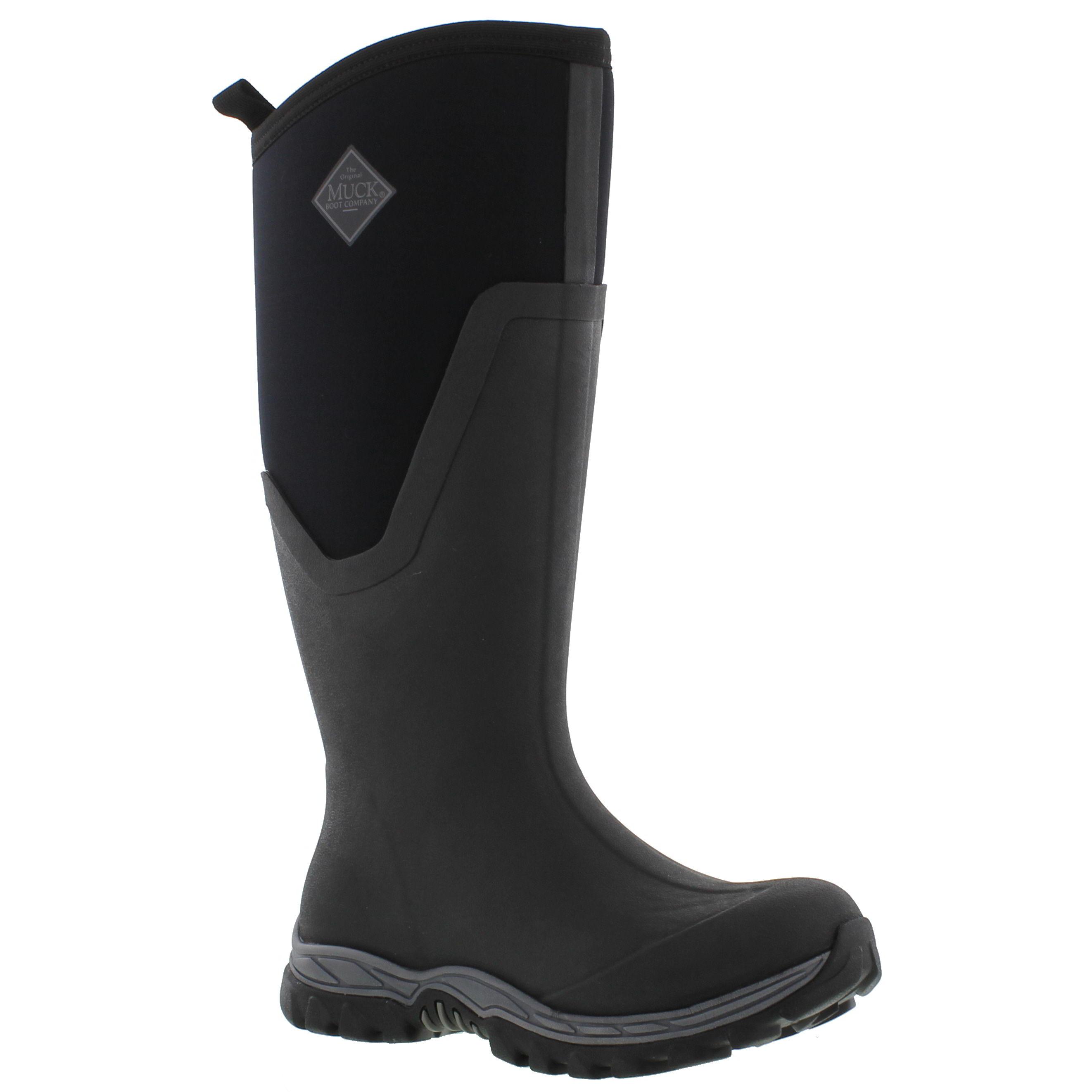 Muck Boots Arctic Sport II Womens Wellington Black Neoprene ...