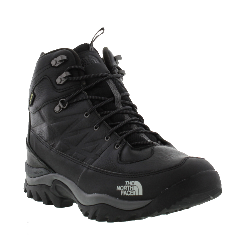 North Face Storm Winter Gore-tex GTX Black Brown Mens