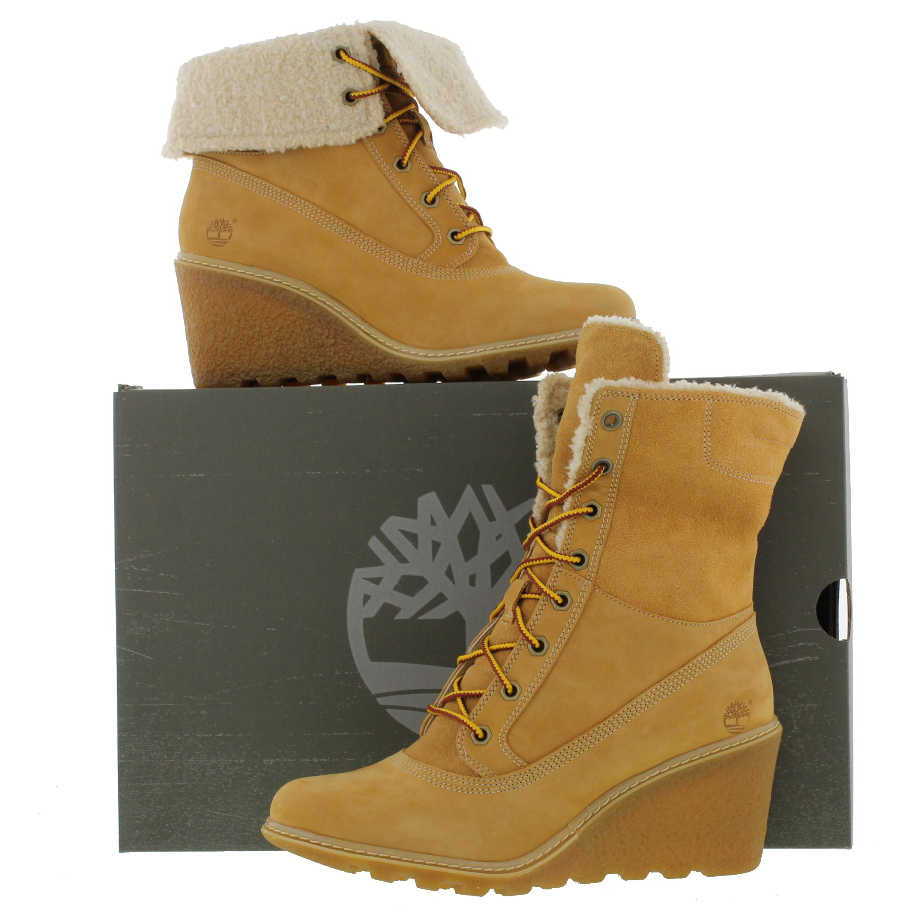 timberland earth keeper amston 8257a roll top womens wedge