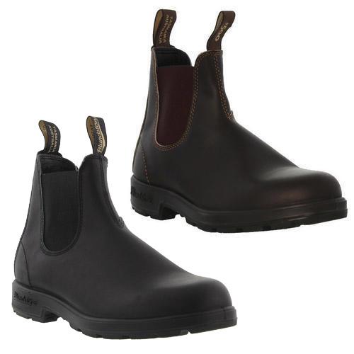 Blundstone 510 500 Mens Brown Black Leather Chelsea