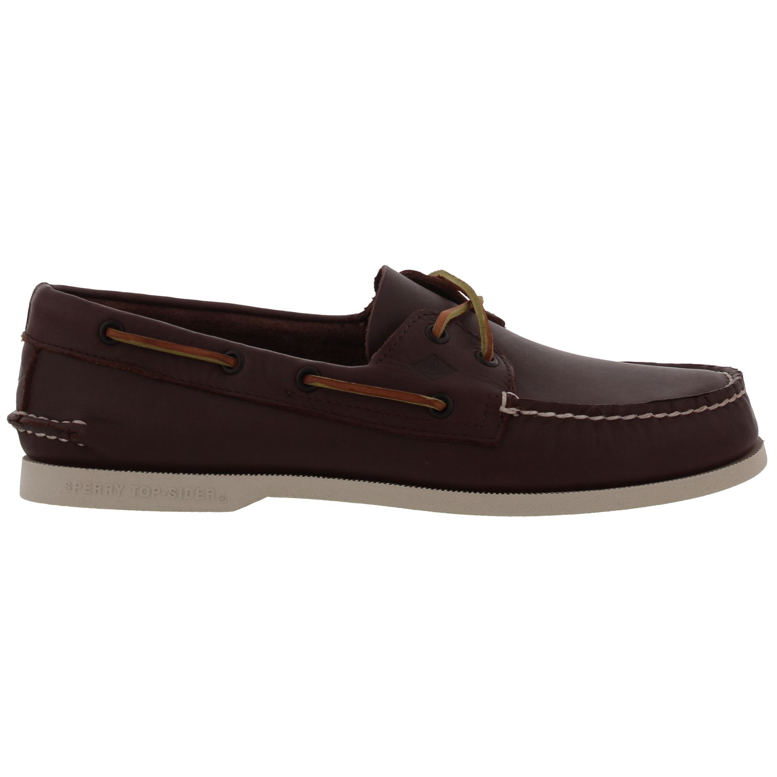 Sperry Top Sider A/O Mens Brown Leather Deck Boat Shoes ...