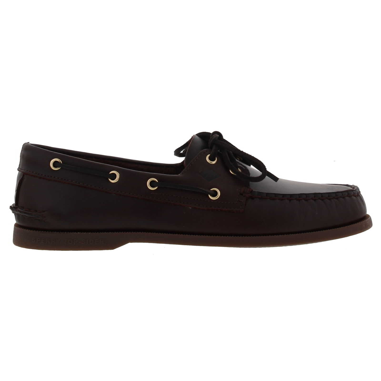 Sperry Top Sider A/O 2 Eye Brown Leather Mens Deck Boat ...