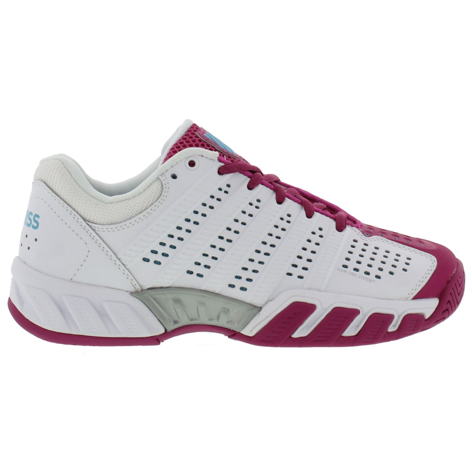 k swiss big light 2 5 womens white tennis trainers