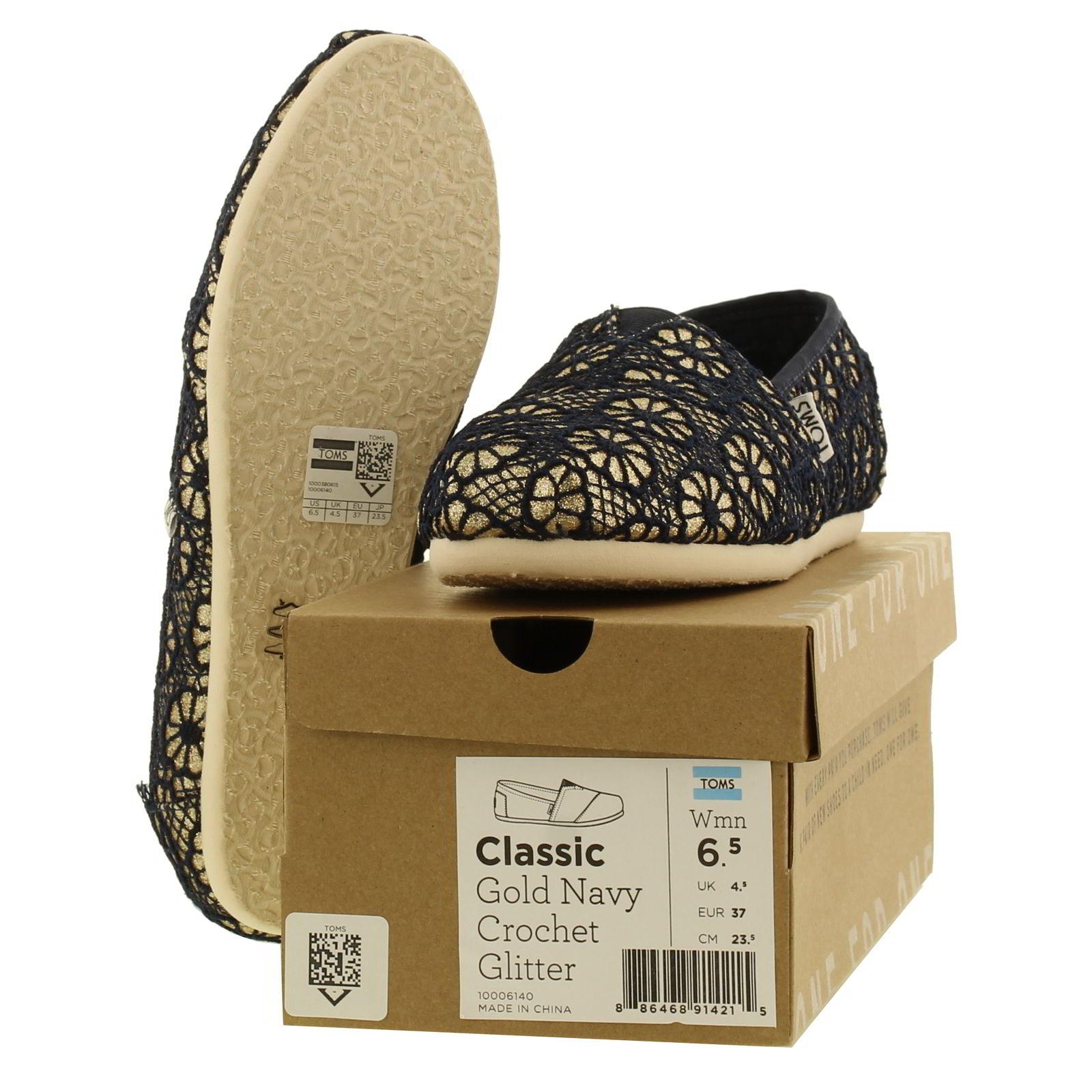 Toms Crochet Classic Slip On Shoe