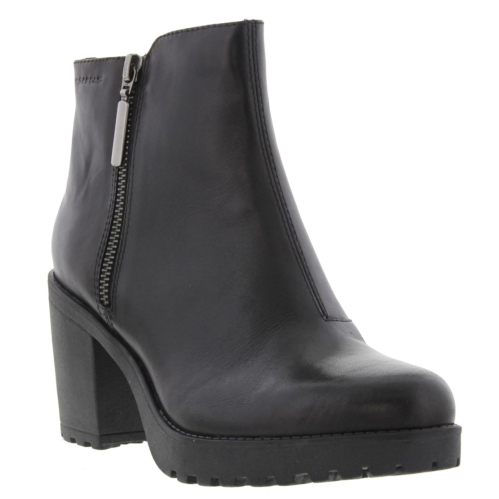 Vagabond Grace 4228 301 Womens Black Leather Heels Chelsea