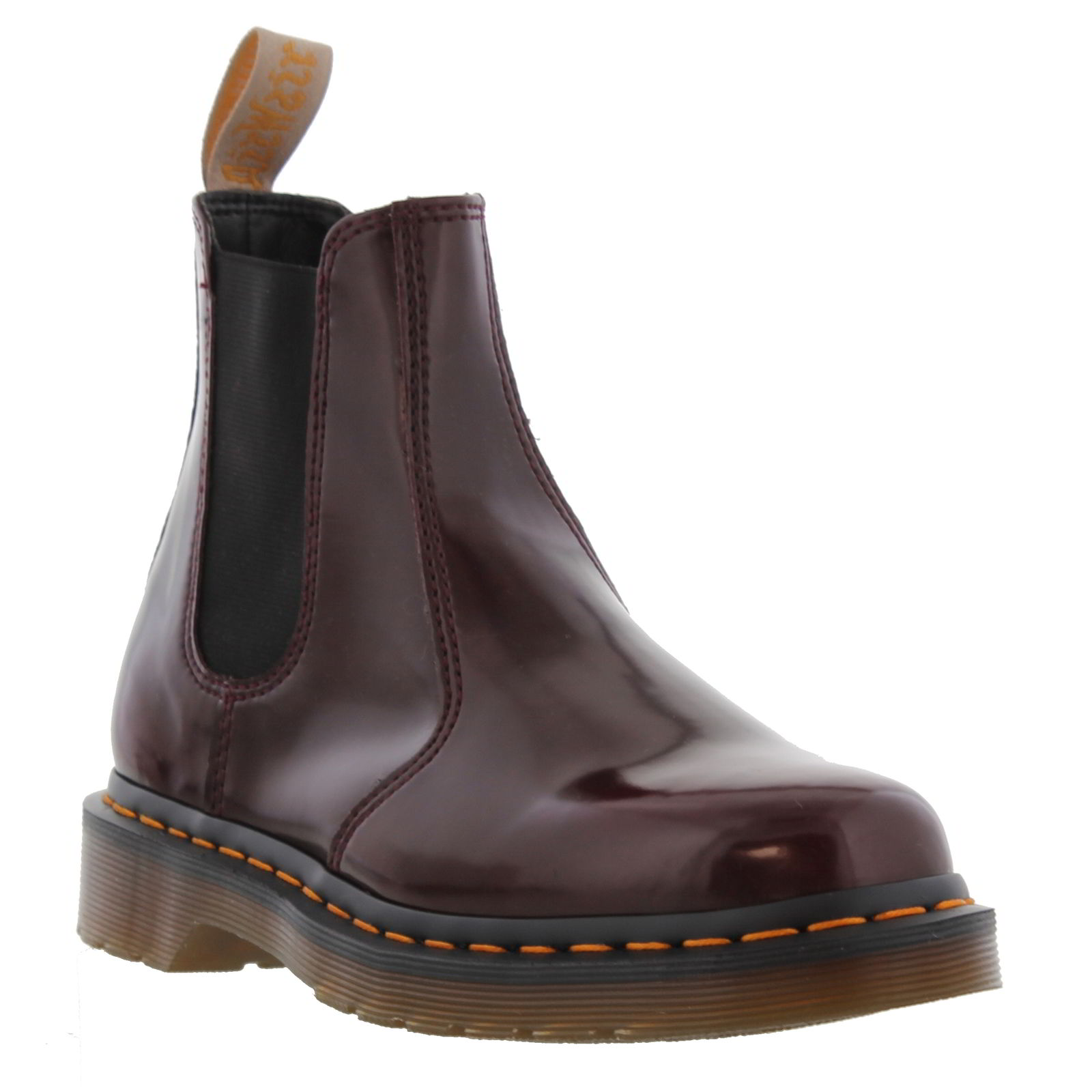 Popular Clean And Classic, The Womens DrMartens Eleanore Chelsea Boot Can Be Paired With Almost Anything Expect Long Lasting Durability In The Dr Martens Eleanore, As It Is Constructed With A Pebbled Fullgrain Leather Upper, And Goodyear