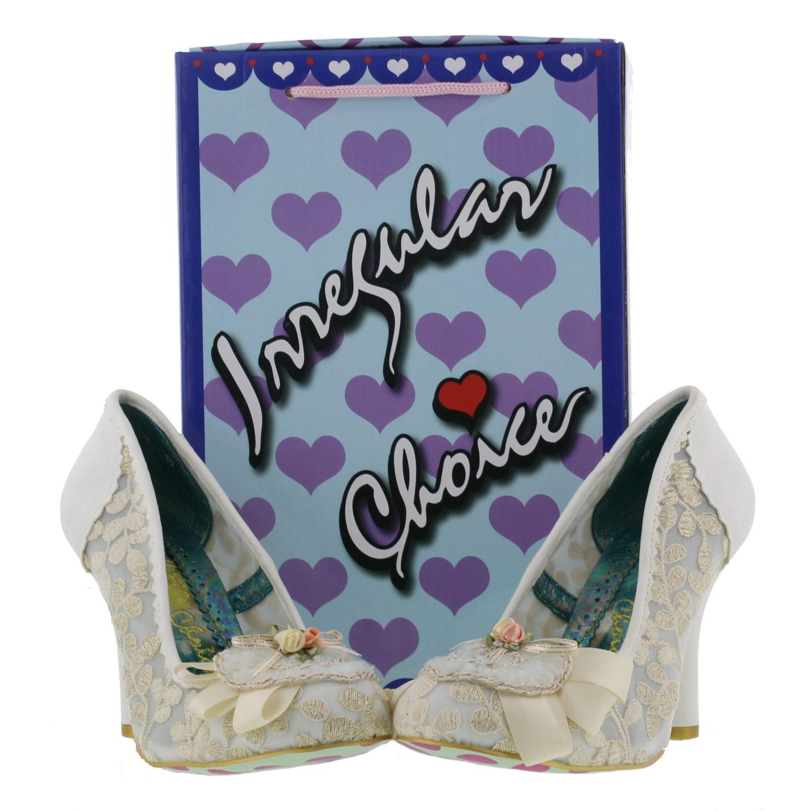 Irregular Choice - Glinda - Womens  sc 1 st  eBay & Irregular Choice Glinda Womens Wedding Court Shoes Size UK 4-8 | eBay Aboutintivar.Com