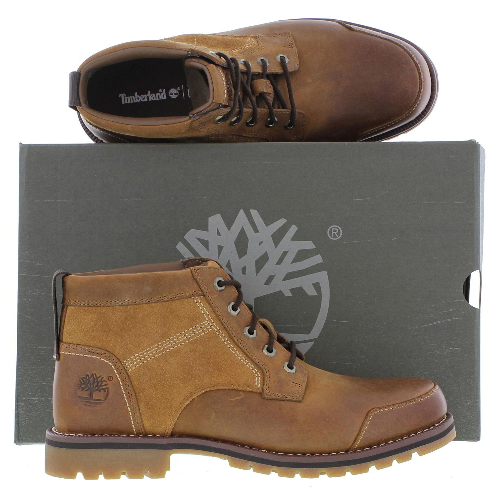 timberland larchmont black chukka boots