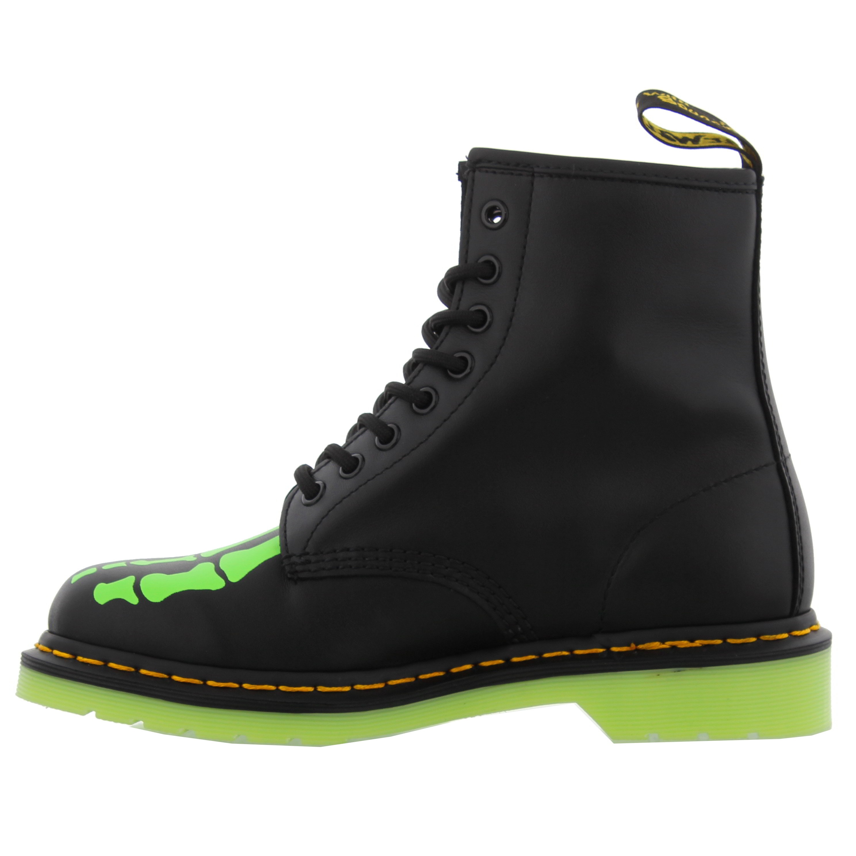 dr martens 1460 skelly mens womens glow in the dark ankle. Black Bedroom Furniture Sets. Home Design Ideas
