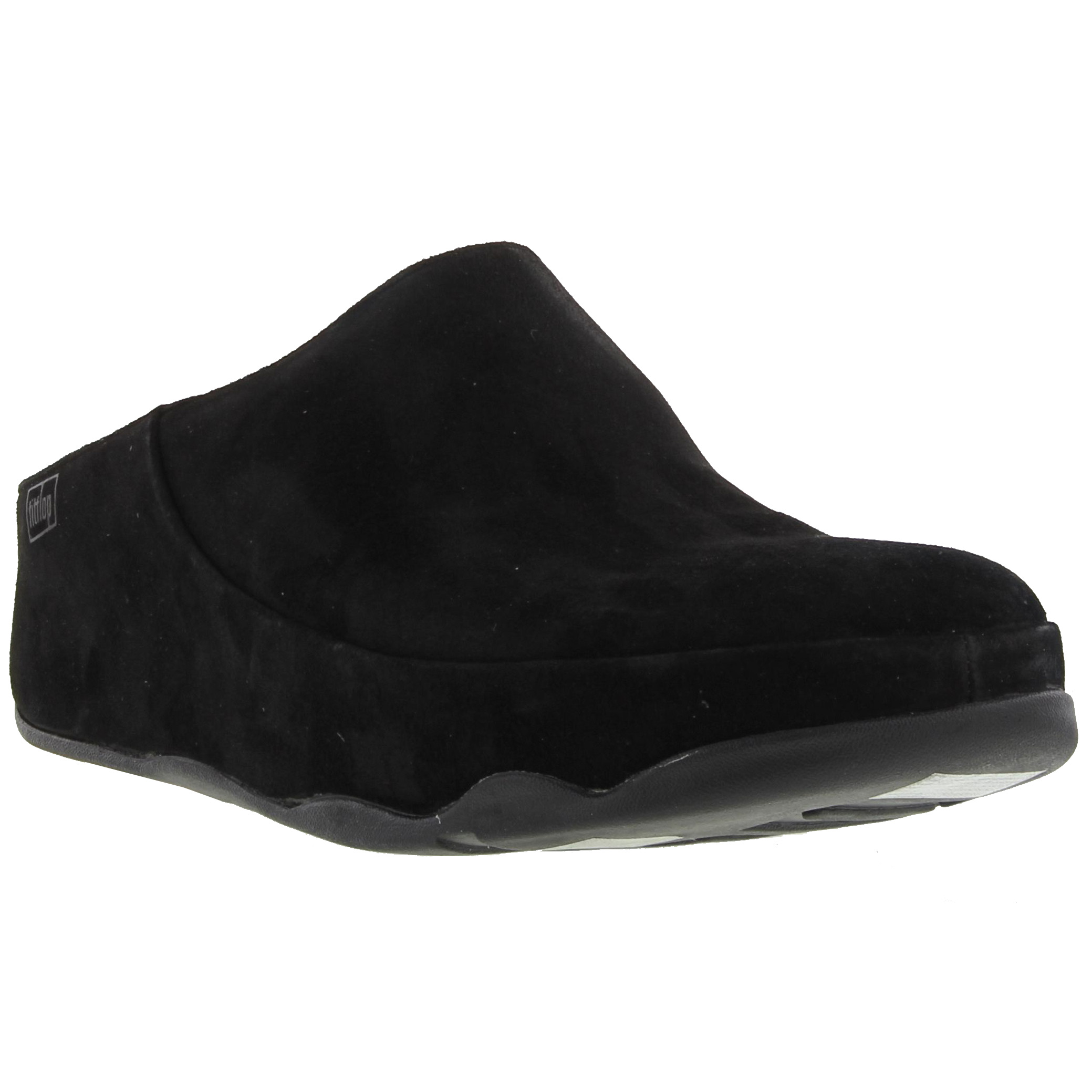 0132fd7cf Fitflop Gogh Mens Leather Clogs Black