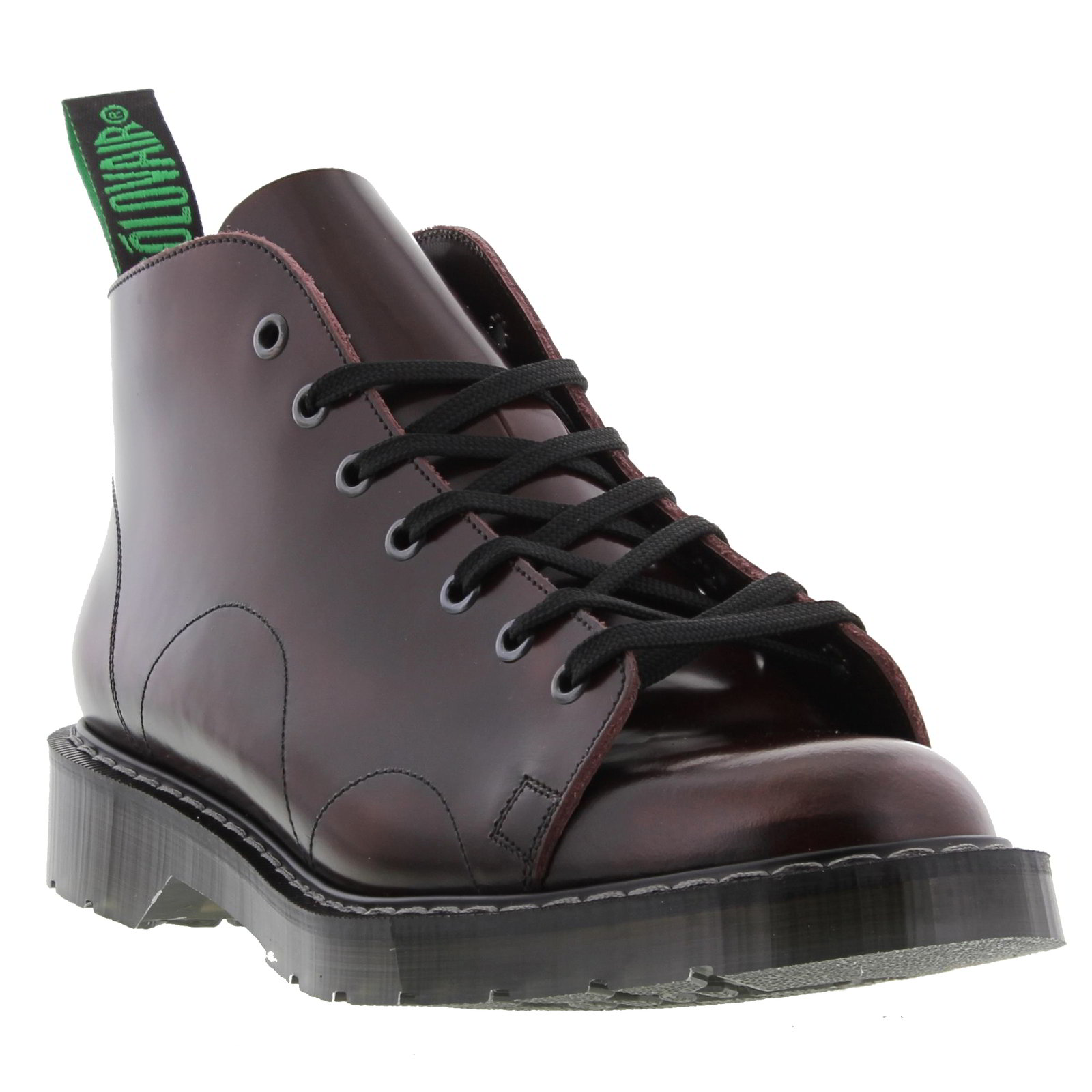 nps solovair made in mens 7 eye leather monkey