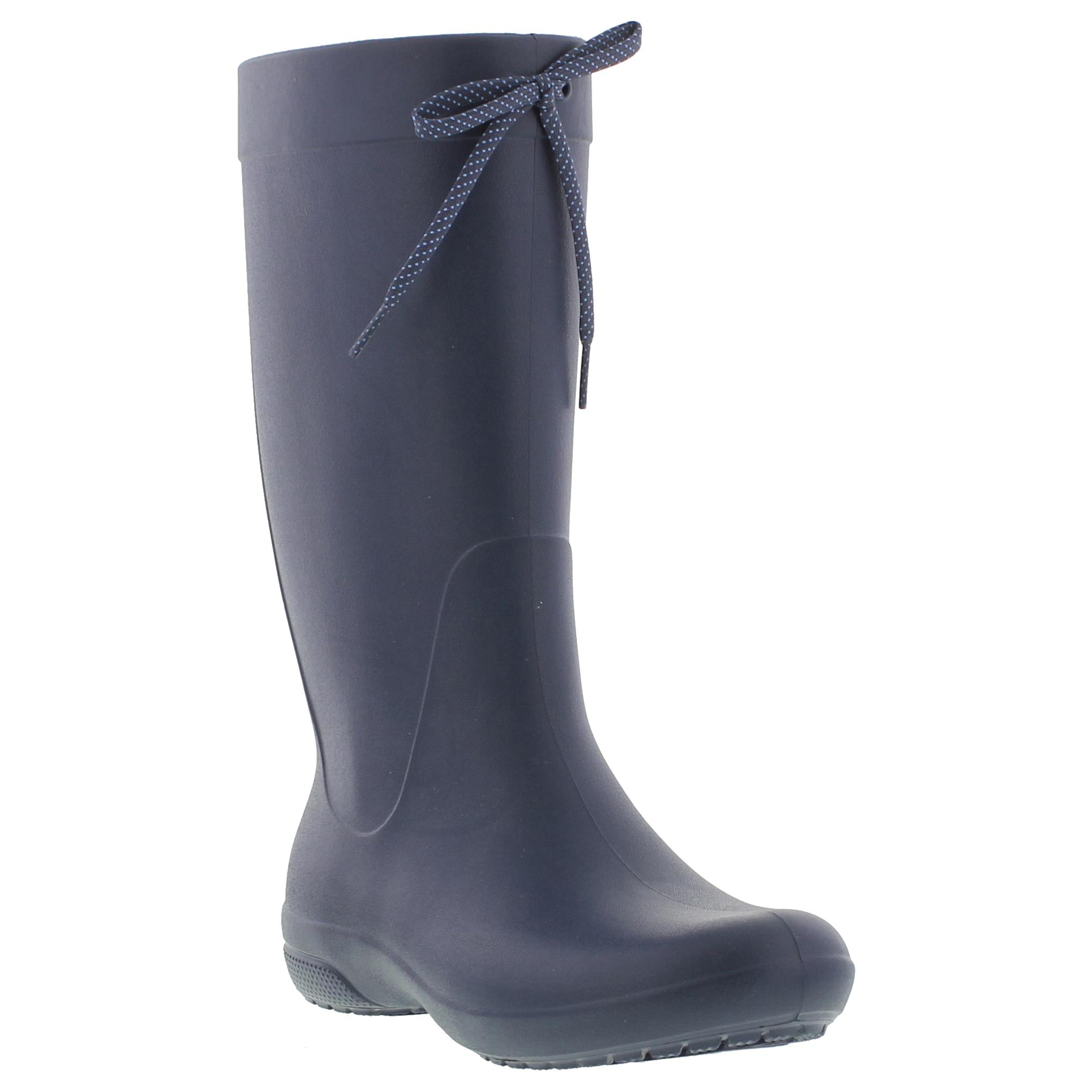 crocs freesail boot womens wellington boots size uk 4