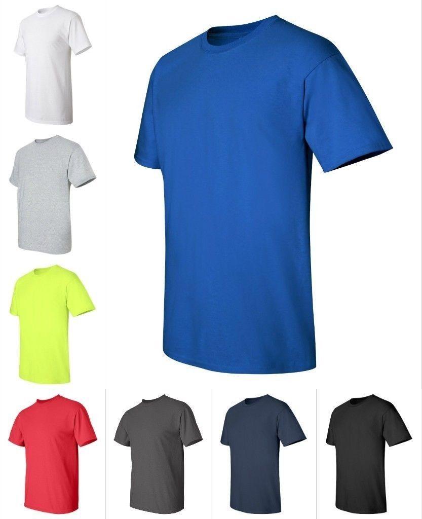 Gildan new mens tall sizes xlt 3xlt 100 ultra cotton t for Mens xlt t shirts
