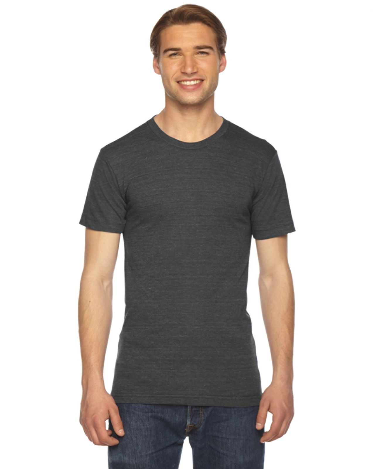 American Apparel Tr401 Tri Blend T Shirt Vintage Style
