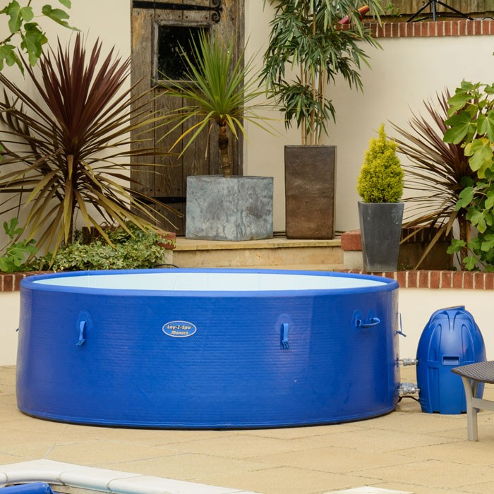 bestway lay z spa portable hot tub monaco 2017 ebay. Black Bedroom Furniture Sets. Home Design Ideas