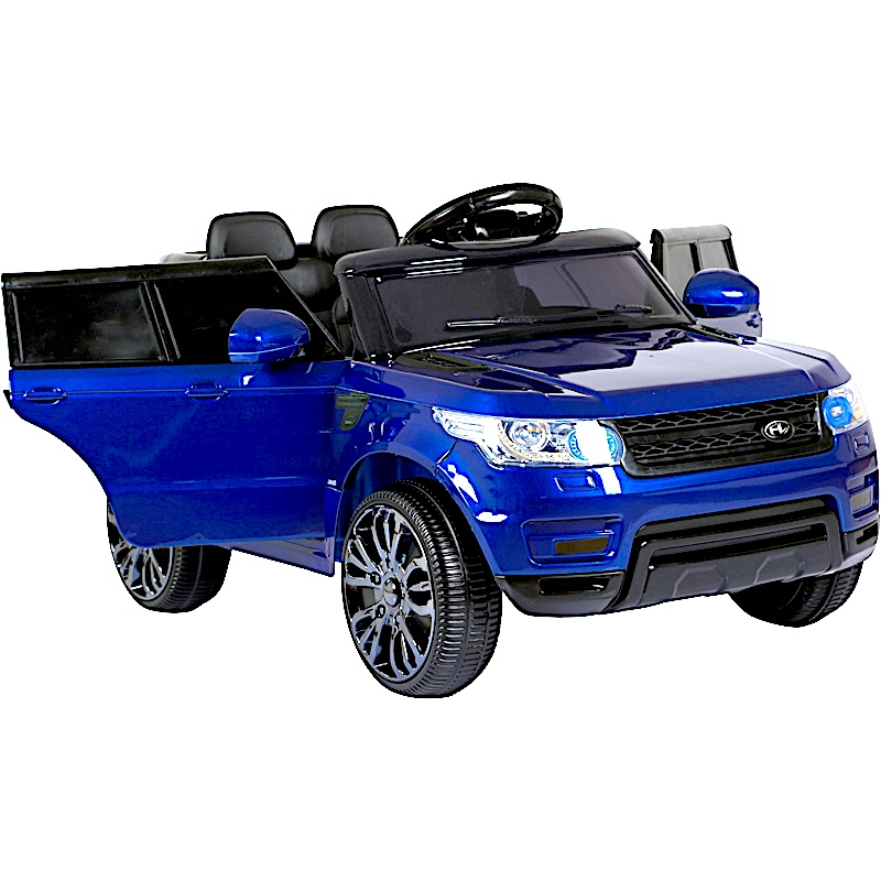 mini hse range rover style electric 12v child s ride on jeep blue. Black Bedroom Furniture Sets. Home Design Ideas
