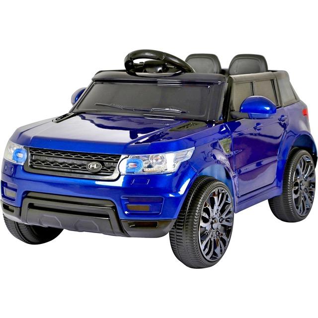 mini hse range rover style electric 12v child s ride on jeep blue. Black Bedroom Furniture Sets. Home Design Ideas