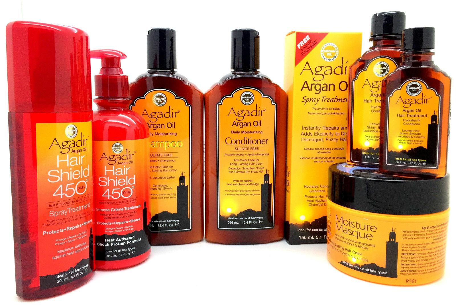 Agadir Argan Oil Sulfate Free Shampoo,Conditioner, Mask