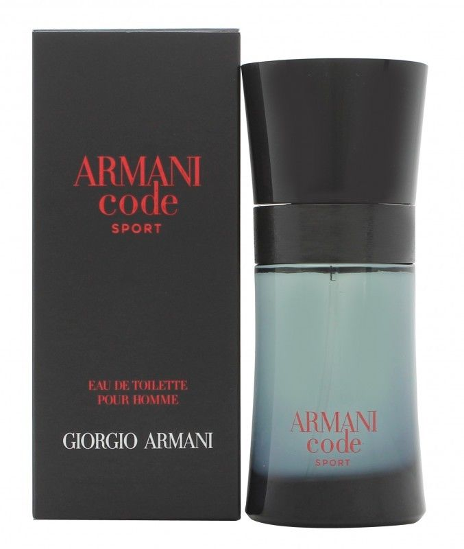 giorgio armani code sport mens edt spray 50ml for him new. Black Bedroom Furniture Sets. Home Design Ideas