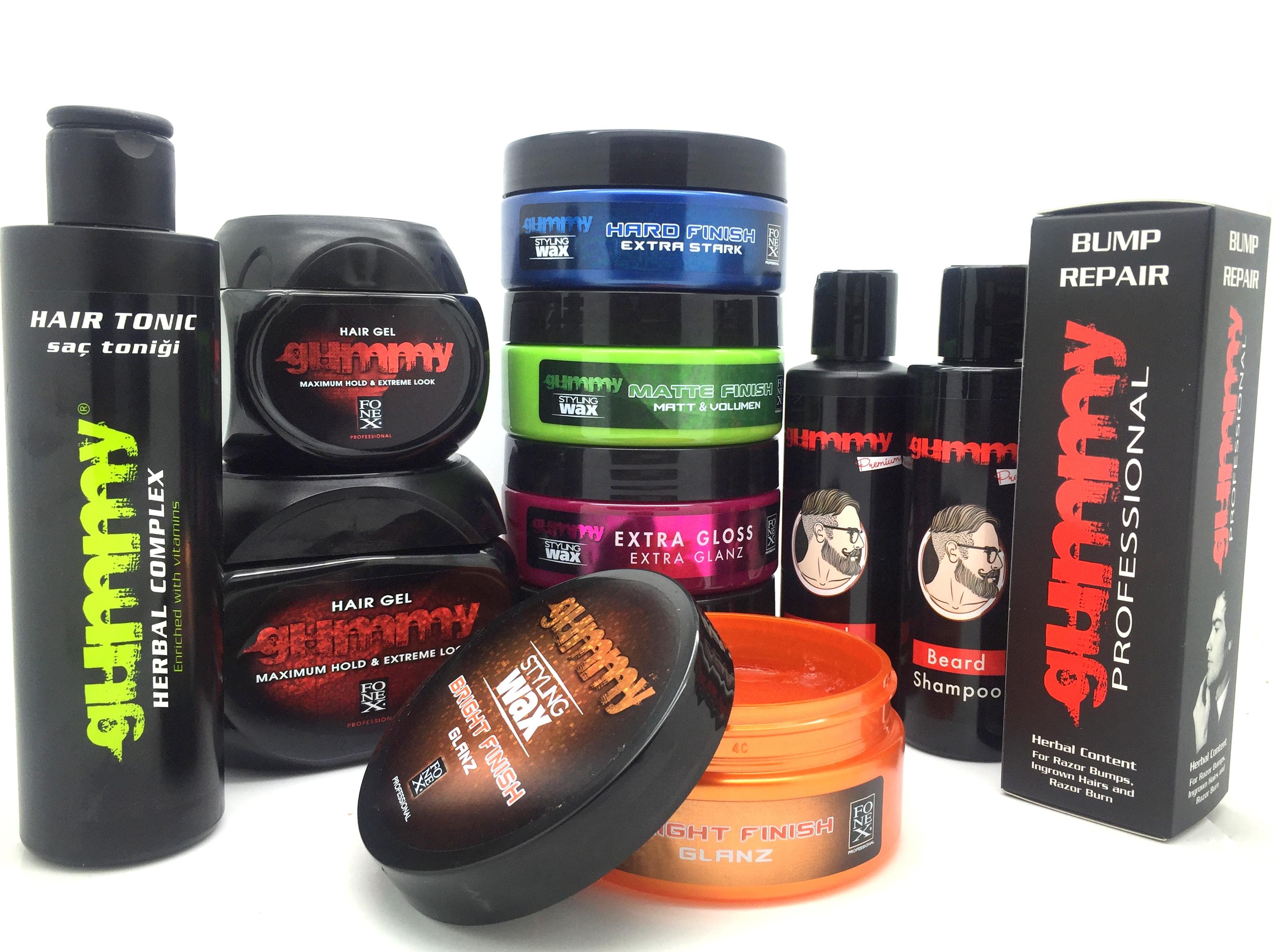 Amazing Gummy Hair Gel Wax Beard Shampoo Conditioner Amp Hair Tonic Short Hairstyles For Black Women Fulllsitofus