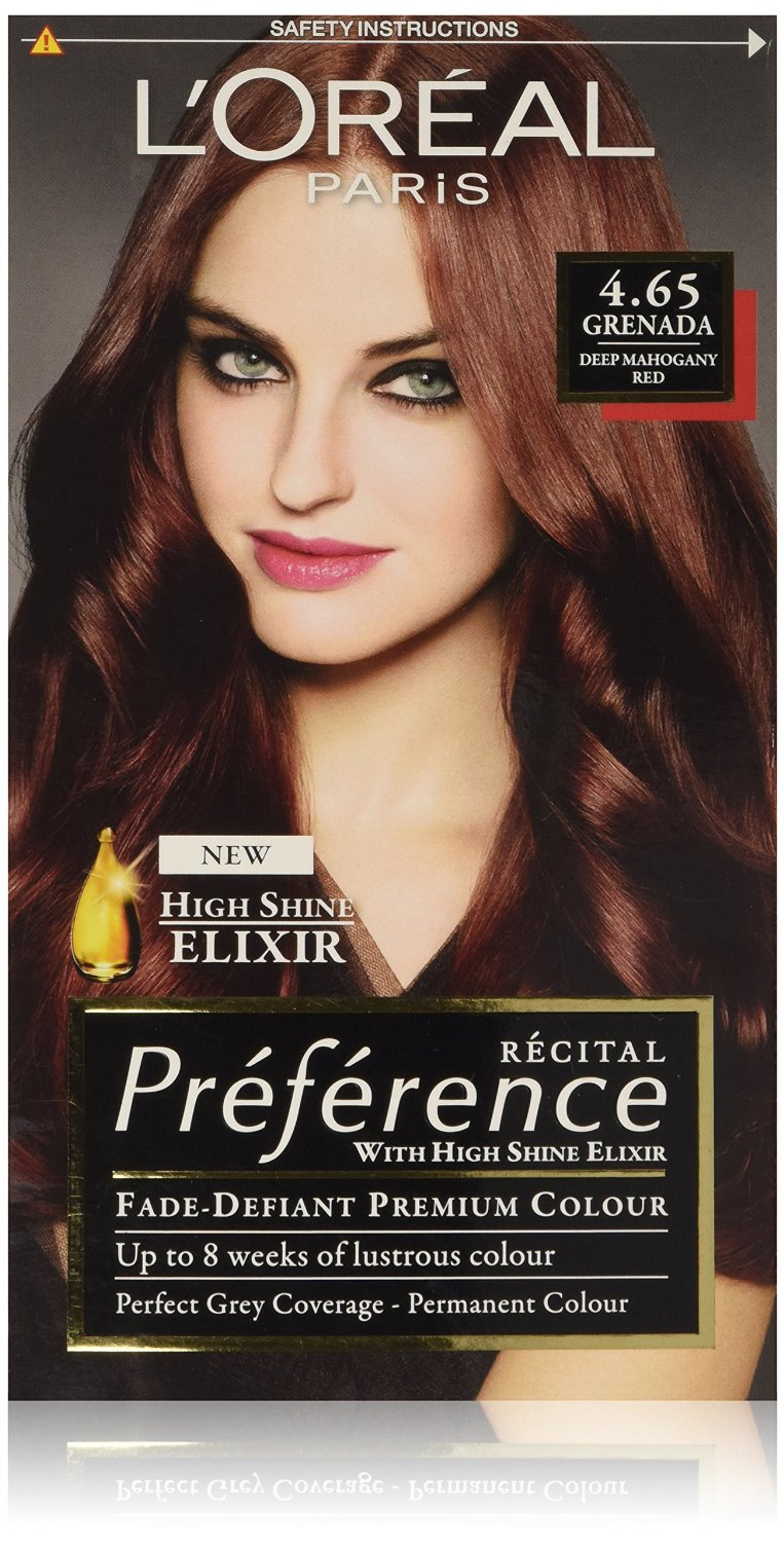 L Oreal Paris Preference Hair Colourant Grenada 4 65 Ebay