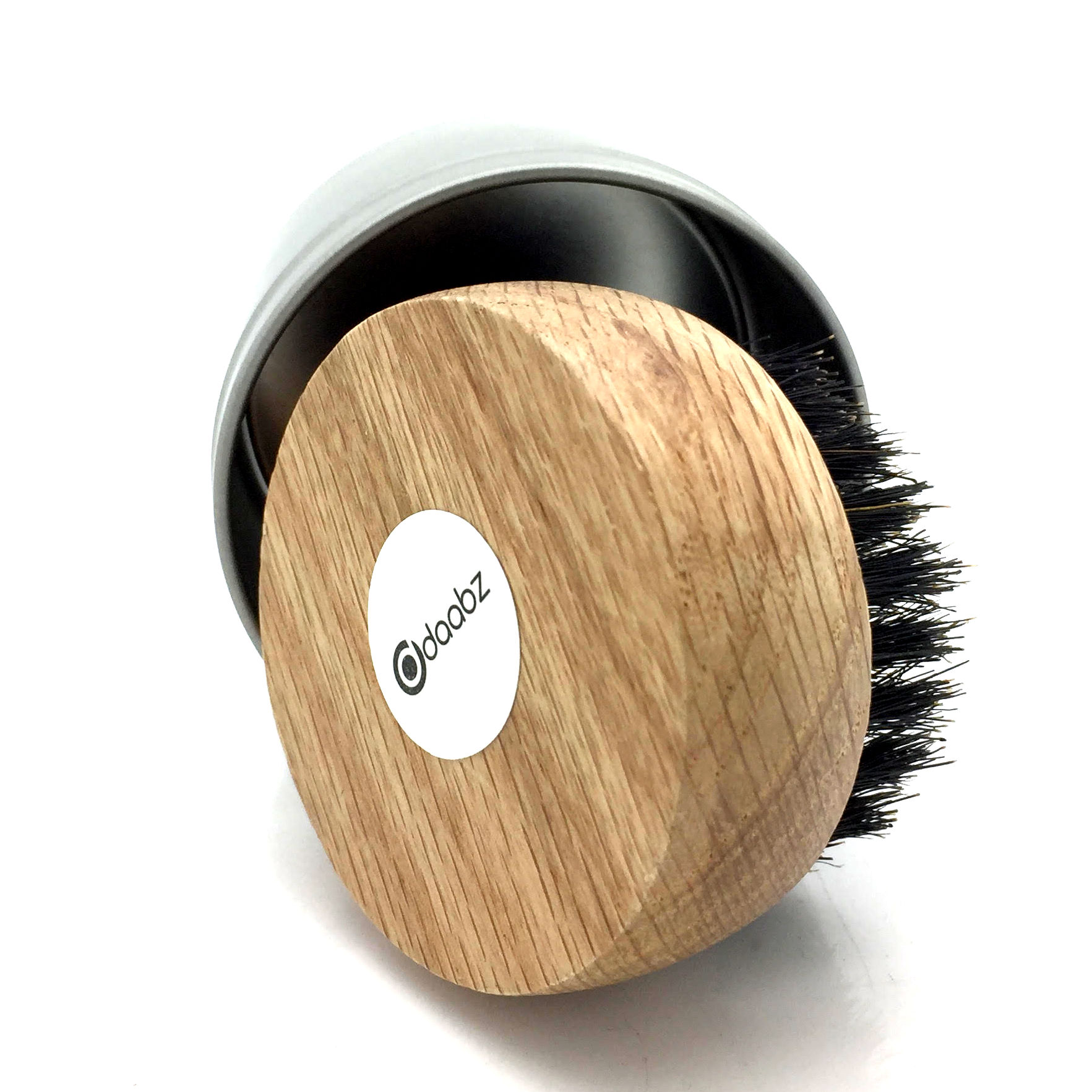 Beard Brush Round Boar Bristles For Hair And Beards With