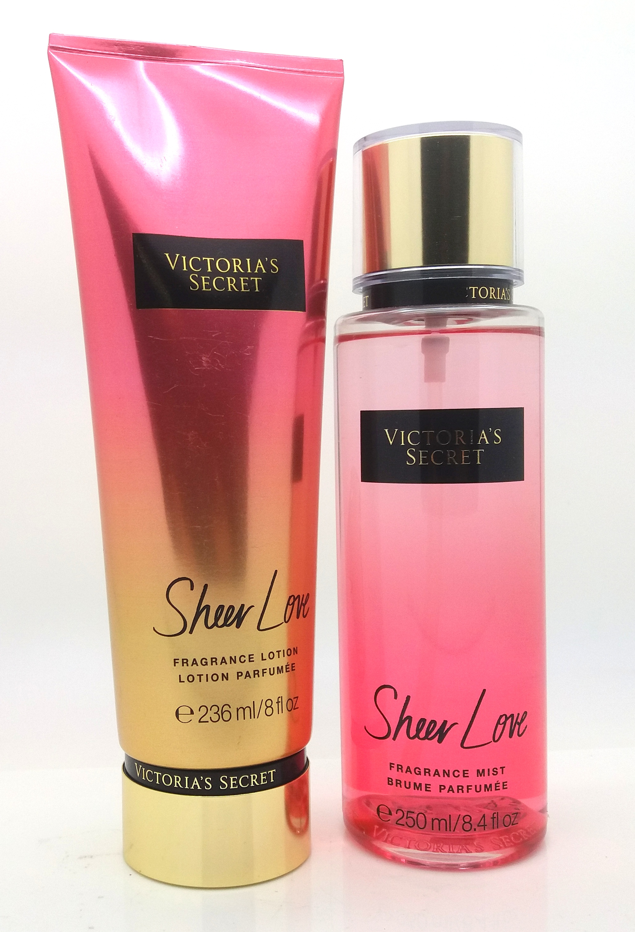 victoria 39 s secret new sheer love fragrance mist lotion. Black Bedroom Furniture Sets. Home Design Ideas