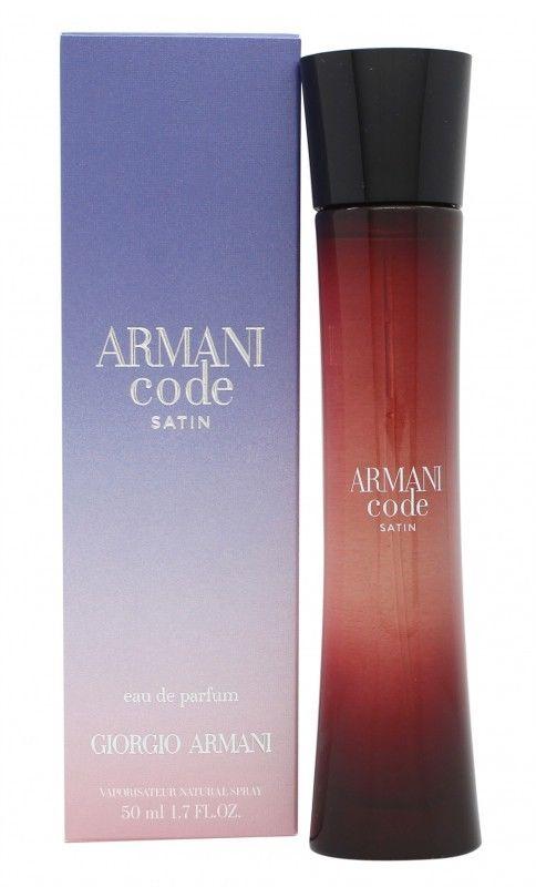 armani code satin eau de parfum pour femme 50ml new sealed box. Black Bedroom Furniture Sets. Home Design Ideas