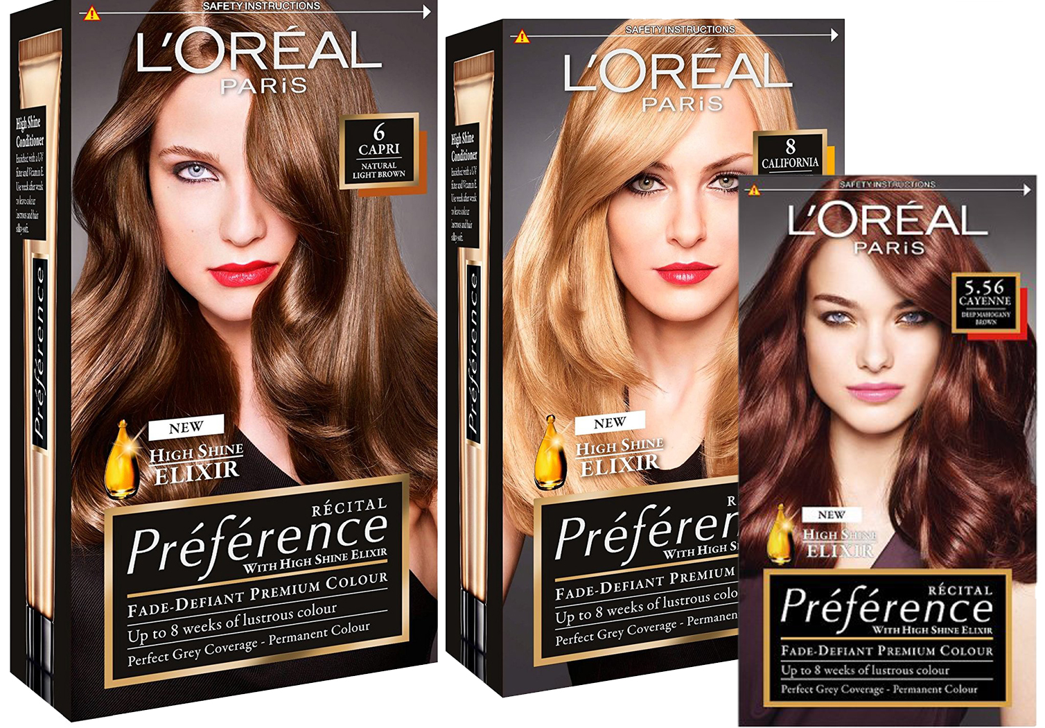 loreal preference instructions colour extender