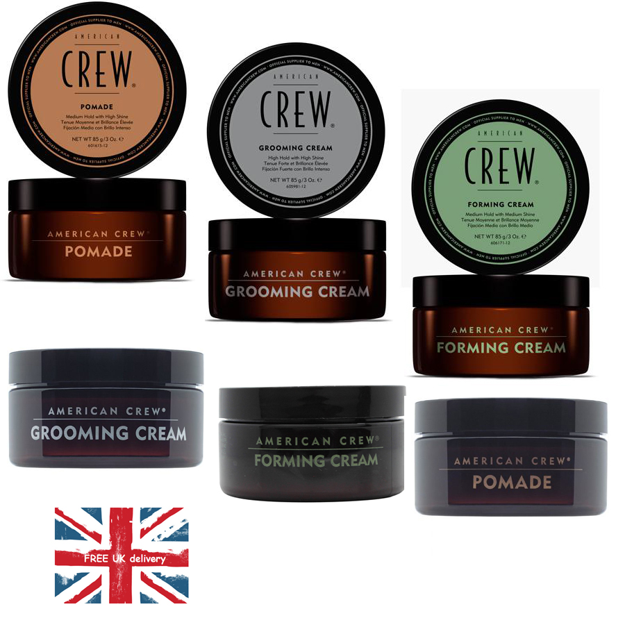 American Crew Styling Hair Pomade Foaming Cream And