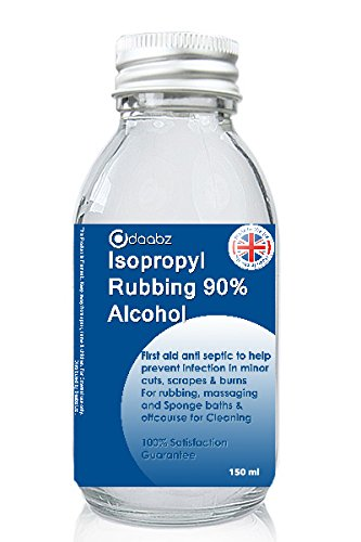 new 2017 isopropyl rubbing alcohol 90 first aid anti septic cleaner 150 ml ebay. Black Bedroom Furniture Sets. Home Design Ideas