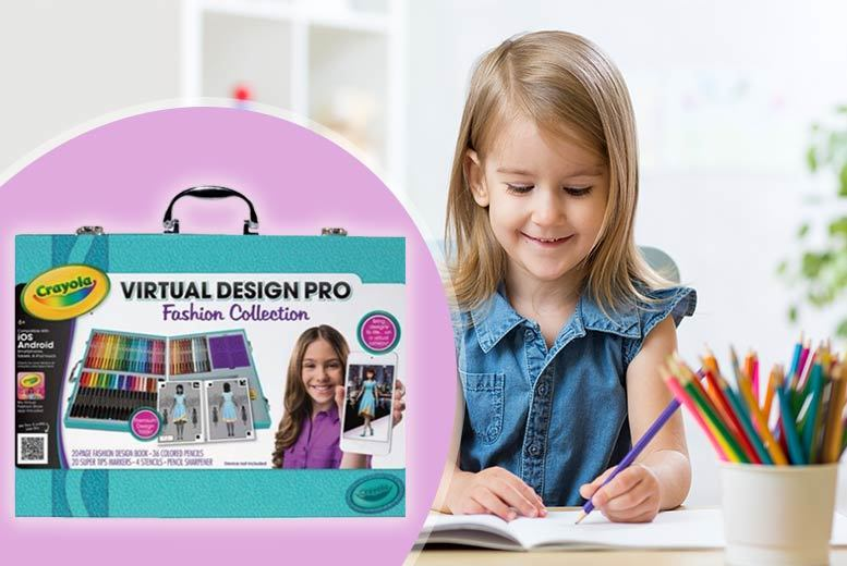 Crayola colour alive virtual design pro fashion collection Crayola fashion design studio reviews