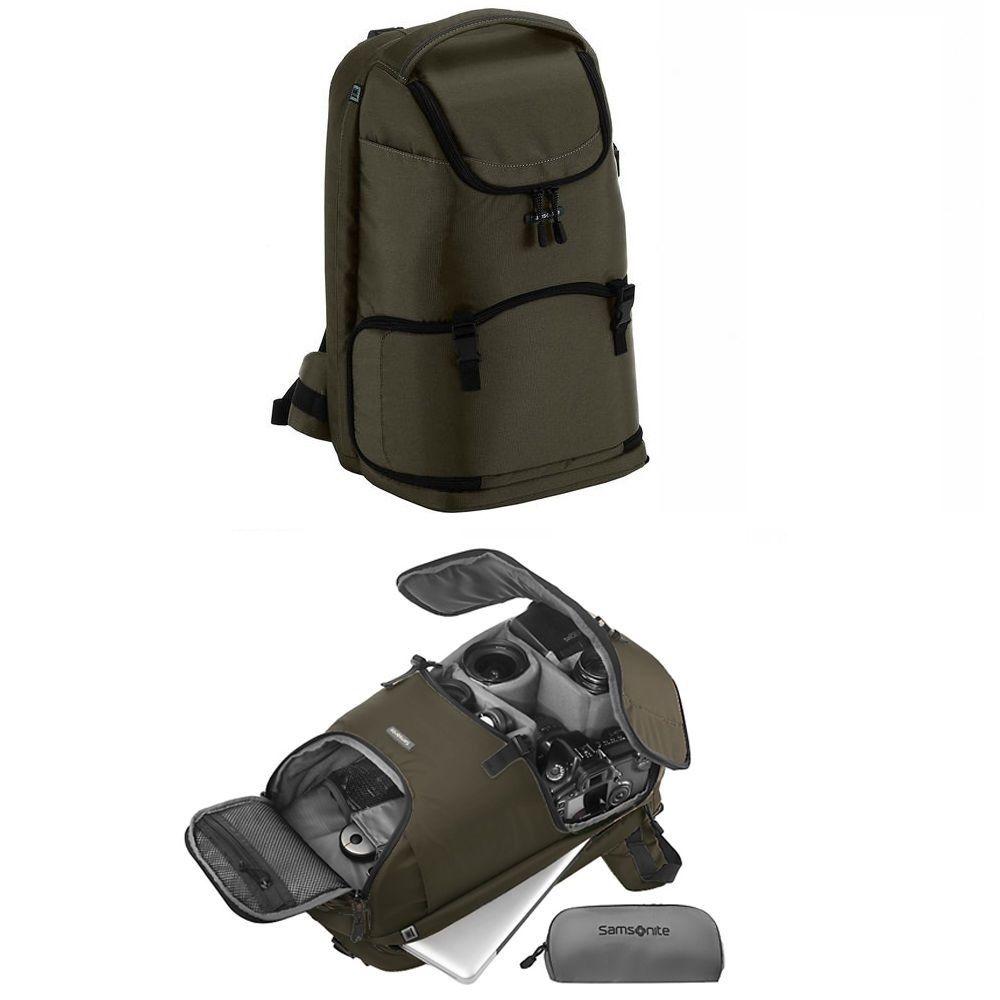 Samsonite Dslr Slr Digital Camera Backpack Rucksack Bag B