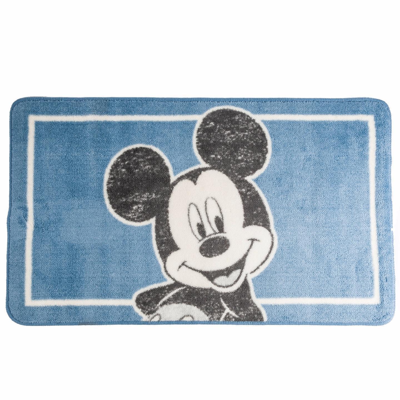 disney mickey mouse soft washable bath mat 50x85cm ebay